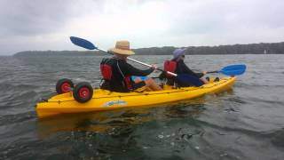 Forster Australia  City new picture : Hobie Oasis Mirage drive kayak in NSW Forster Australia part 1