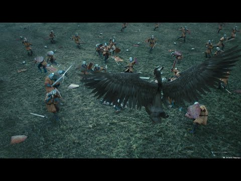 Maleficent 2014  king army and maleficent fight scene (4/10)