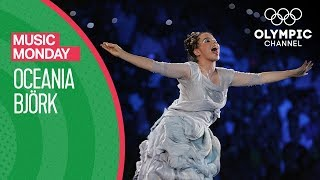 Iceland's global star Bjork performs her song Oceania on August 13, 2004, during the Athens 2004 Olympic Games Opening Ceremony.Watch the complete OPening Ceremony for free at: https://www.olympicchannel.com/en/playback/athens-2004-opening-ceremony/Subscribe to the Olympic Channel here: http://bit.ly/1dn6AV5