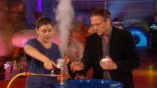 Experiment Showing How Steam Engines Work - The Genius Of Invention - Earth Lab by Brit Lab