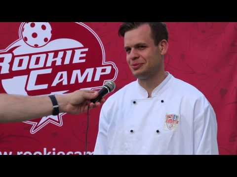 Martin Zich jako šéfkuchař