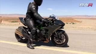 2. Kawasaki H2 vs Kawasaki Ninja ZX 10R   top speed