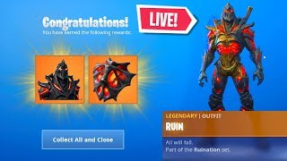 *NEW* FORTNITE RUIN SKIN UNLOCK EVENT RIGHT NOW! LIVE EVENT (Fortnite Battle Royale)
