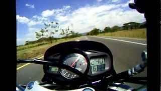 8. Top Speed 241 Km/h Suzuki GSR 600 Colombia
