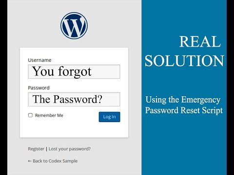 How to Reset your WordPress Admin Password – Fast Solution!