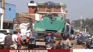 Sudanese rush to Uganda