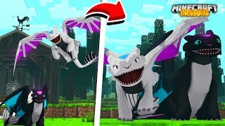 The BABY NIGHTFURY DRAGONS grow up!! - Minecraft Dragons