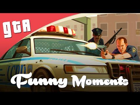 GTA IV Funny Moments - LET'S BE COPS (Nederlands)