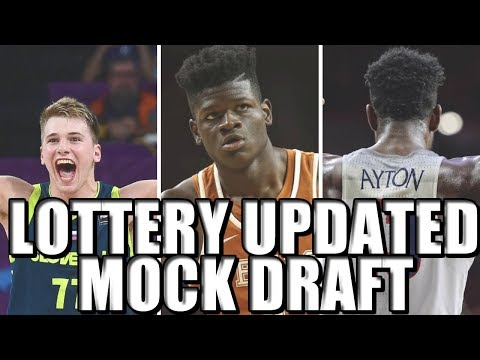 Mock 2018 NBA Draft (Post-Lottery)! Will Doncic or Ayton Go NUMBER ONE?