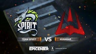 Team Spirit vs AVANGAR - EPICENTER 2018 CIS Quals Semi-final - map1 - de_overpass [Smile]