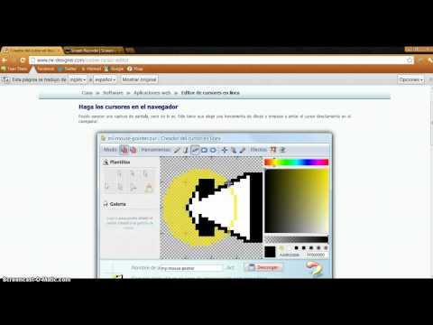 Como crear tu cursor 3D con circulo sin descargar nada.
