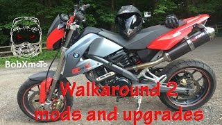 7. BMW G650 Xmoto Walkaround Part 2 after upgrades