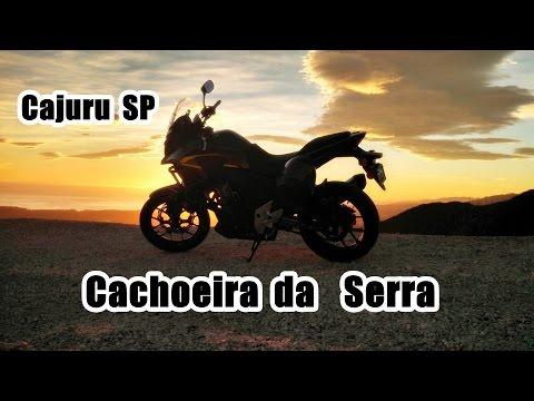CB500x - conhecendo a cachoeira da serra em Cajuru SP.