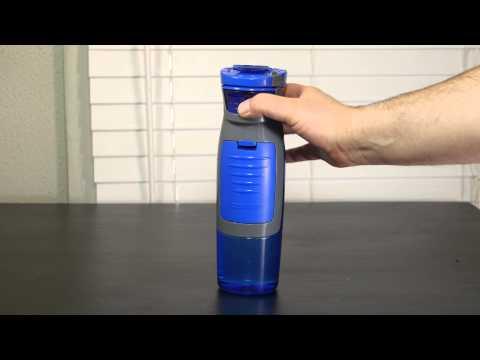 Contigo AUTOSEAL Kangaroo Water Bottle with Storage Compartment