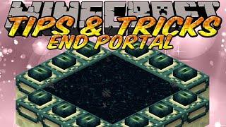 Minecraft Tips and Tricks - How to make an Ender Portal with creative mode