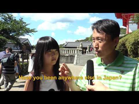 Travelers' Voice of Kyoto: KIYOMIZU DERA Area Interview011