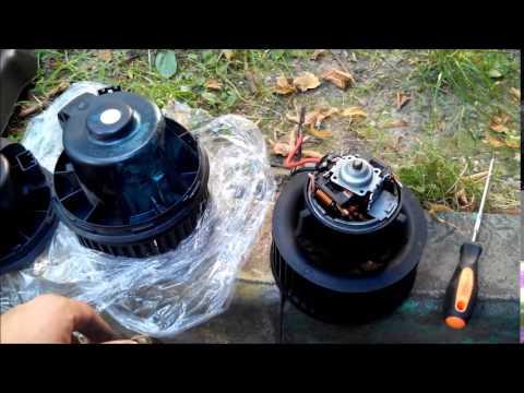 Замена мотора печка на форд фокус 2 снимок