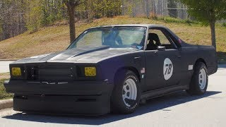 Subscribe to my channel!- http://bit.ly/2jH1GkMFor this video review, we hop in this totally badass looking El Camino with a bunch of Camaro Z28 parts slapped on! The car feels like a race car, sounds like a race car, and handles like one. The El Camino is one interesting car. Thanks for watching!2nd channel!- https://www.youtube.com/channel/UCN4-H8Kzio2pQXuMEEACy1gFollow me on wheelwell for QNA questions!  https://wheelwell.com/profile/559b2512c75d6981233bec40/garage/Key Tags- https://motoloot.com/collections/that-dude-in-blue-lootNew t-shirts are out as well! MOAR BELOW.New shirts!- https://shop.studio71us.com/collections/david-pattersonSnapchat!- DJP4Twitter- @thatdudeinblueFacebook- https://www.facebook.com/thatdudeinblue/?fref=tsNew decals!- http://spinnywhoosh.com/thatdudeinblue/Stay awesome. Drift into blue squad and subscribe!Songs used and artists- Check out Chuki Beats! -https://www.youtube.com/user/CHUKImusic