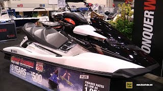 10. 2017 Yamaha FX Cruiser HO Jet Ski - Walkaround - 2017 Toronto Boat Show