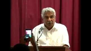 KERALA CHIEF MINISTER OOMMEN CHANDY - OFFICIAL YOUTUBE CHANNEL Thiruvananthapuram 22-05-2013: The International Day for Biological ...