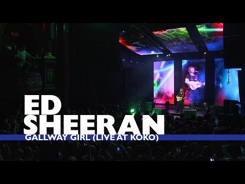 Ed Sheeran - 'Galway Girl' (Live At Capital Up Close) (видео)