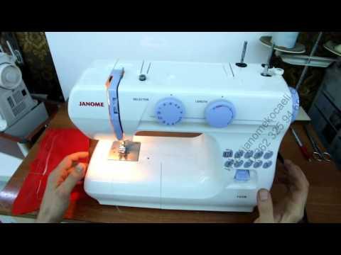 JANOME Makine Eğitim Videoları