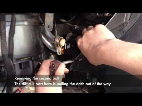 how to drain zafira radiator