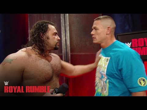 gets - John Cena and Rusev almost come to blows after both suffering disappointing losses at the Royal Rumble. More ACTION on WWE NETWORK : http://bit.ly/1u4pM74 Don't forget to SUBSCRIBE: ...