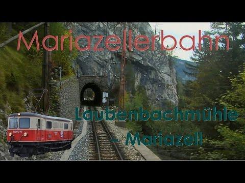 Führerstandsmitfahrt Mariazellerbahn (Bergstrecke) Laubenbachmühle - Mariazell [HD] - Cab Ride