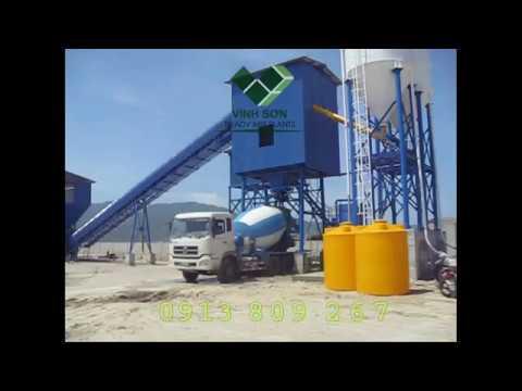 Trạm Beton Kép - Twin Batching Plant - Vinh Sơn Co., Ltd