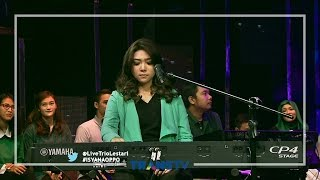Video LIVE WITH TRIO LESTARI - Tetap Dalam Jiwa (Isyana ft. Nadin) MP3, 3GP, MP4, WEBM, AVI, FLV April 2019
