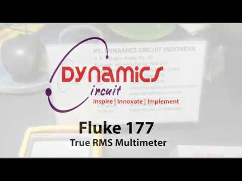 Fluke 177 true RMS multimeter finish repair and tested