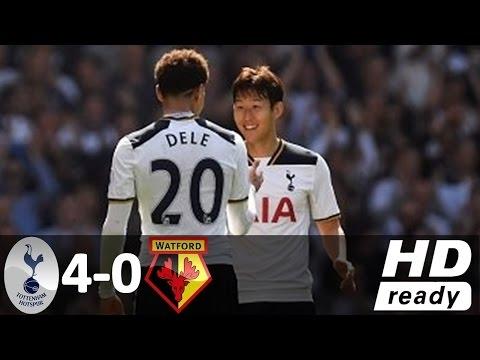 Tottenham Hotspur vs Watford 4-0 - All Goals and Highlights - Premier League 2017 HD