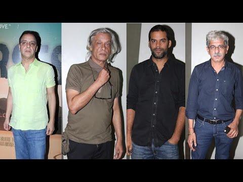 Vidhu Vinod Chopra, Vikramaditya Motwane & Others At Screening Of Film Broken Horses