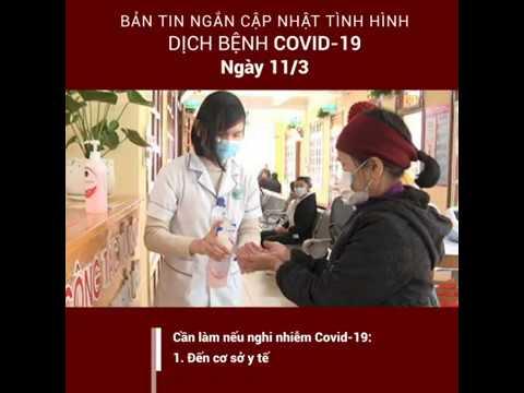 Bản tin ngắn cập nhật tình hình dịch bệnh Covid-19 trên toàn thế giới (Ngày 11/03/2020)