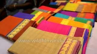 Kanchipuram India  City new picture : Silk Saree shop in Kanchipuram