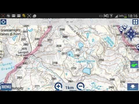 Video of Outdoor and Hiking Navigation