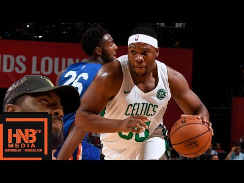 New York Knicks vs Boston Celtics Full Game Highlights / July 12 / 2018 NBA Summer League