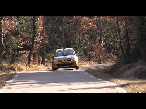 Rallye de Vaison La Romaine 2015 clio R3 à l'attaque