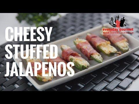 Cheesy Stuffed Jalapeños   Everyday Gourmet S7 E82