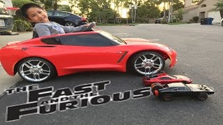 Nonton Fast and Furious R/C Car vs Powerwheels Corvette Race Film Subtitle Indonesia Streaming Movie Download