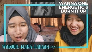 Video Wanna One - Energetic & Burn it Up// MV Reaction MP3, 3GP, MP4, WEBM, AVI, FLV September 2017