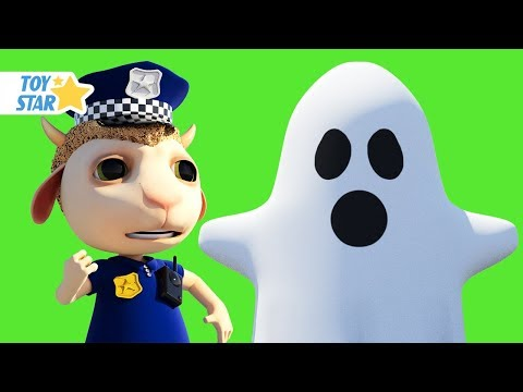 New 3D Cartoon For Kids ¦ Dolly And Friends ¦ Johny Police Jail Playhouse Toy And Real Ghost #103