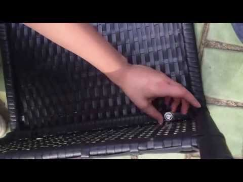 The assembly video of RATTAN SOFA