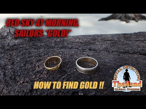 Metal Detecting Thailand with Stefan Burford. Season 1 Episode 8 - Red Sky at Morning Sailors Gold!