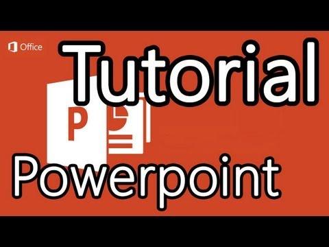Tutorial Powerpoint 2013 - Cómo hacer presentaciones en Powerpoint
