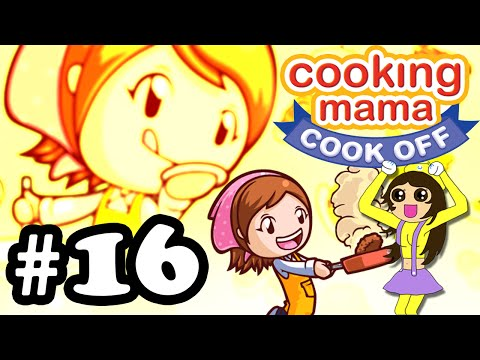 Let's Play Cooking Mama Cook Off #16 Stir Fried Crab