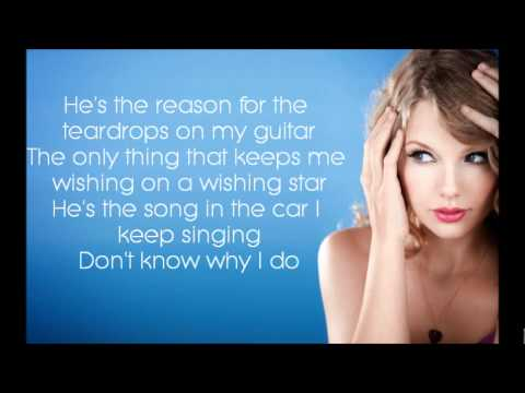 Teardrops On My Guitar – Taylor Swift [Lyrics]