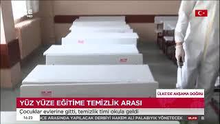 Gaziosmanpaşa'daki Okullarda Dezenfekte Çalışmaları - Ülke Tv 2