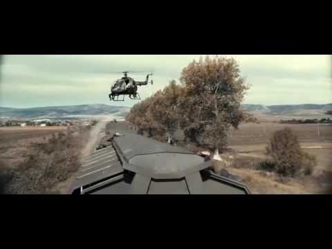 The Expendables 3 Doc escaping opening train scene - HD